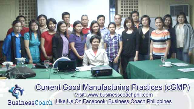Current Good Manufacturing Practices (2)