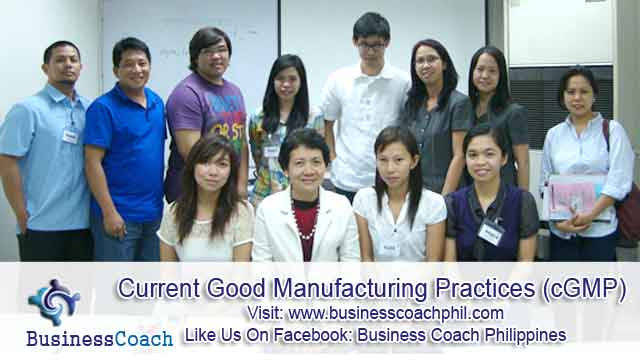 Current Good Manufacturing Practices (3)
