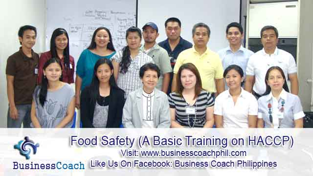 Food Safety (A Basic Training on HACCP) (2)