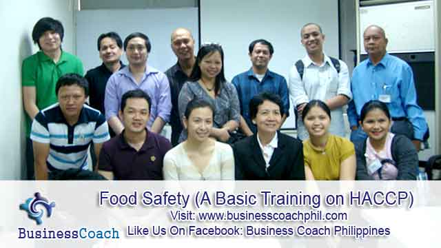 Food Safety (A Basic Training on HACCP) (3)