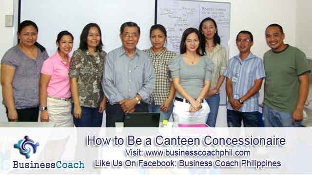 How to Be a Canteen Concessionaire (1)