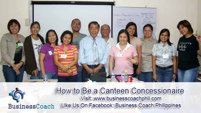 How To Be A Canteen Concessionaire Business Seminars By