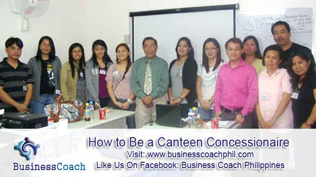 How to Be a Canteen Concessionaire (3)