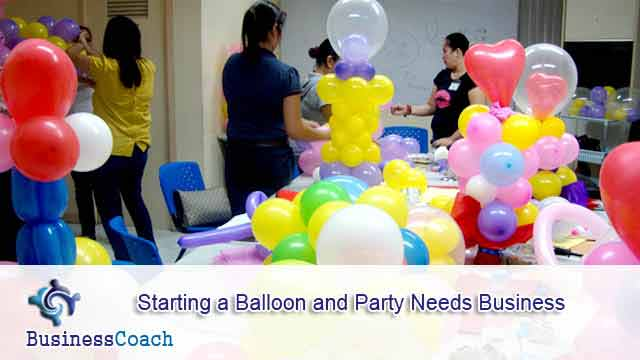 balloon and party needs business 11