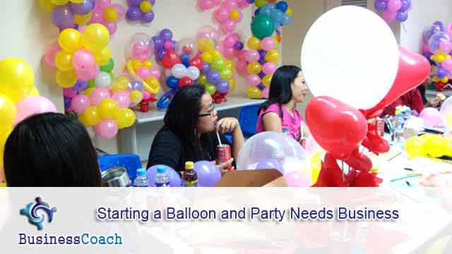 balloon and party needs business 12