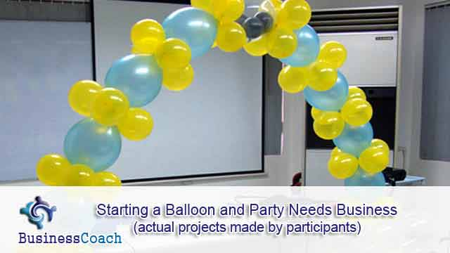 balloon and party needs business 3
