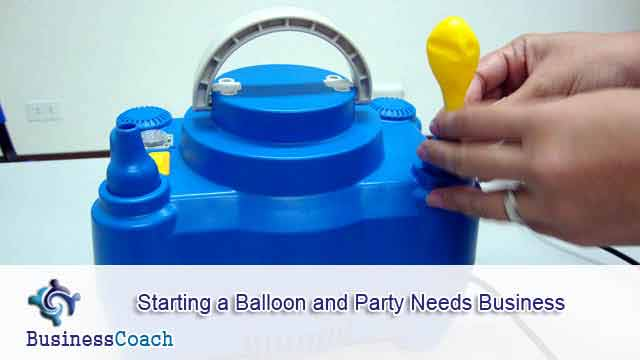 balloon and party needs business 7