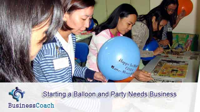 balloon and party needs business 8