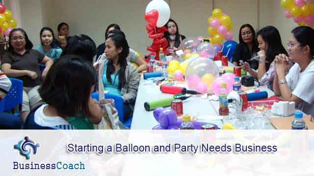 balloon and party needs business 10