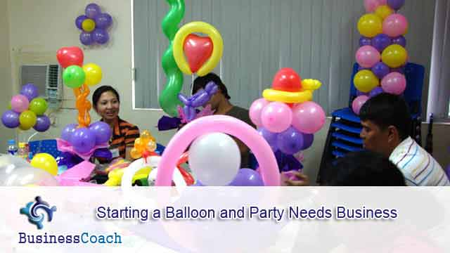 balloon and party needs business 9