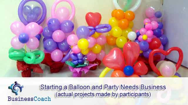 Party Decorator Courses