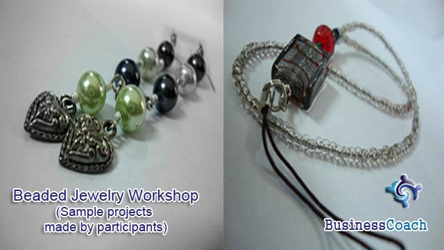beaded jewelry workshop 1
