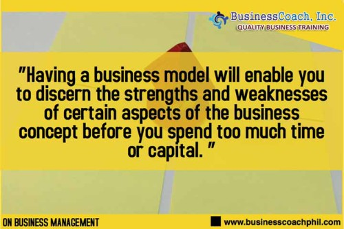 The Vital Role of the Business Model