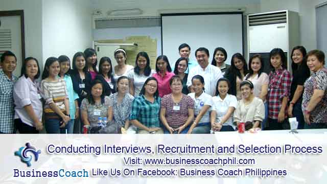 Conducting Interviews, Recruitment and Selection Process (2)