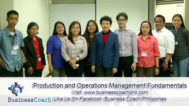 Production and Operations Management Fundamentals
