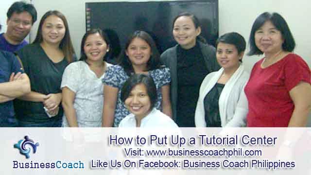How to Put Up a Tutorial Center  (1)
