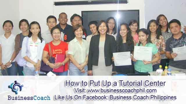 How to Put Up a Tutorial Center  (2)
