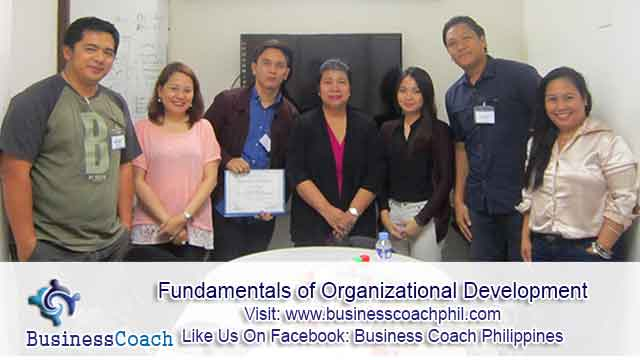 Fundamentals of Organizational Development