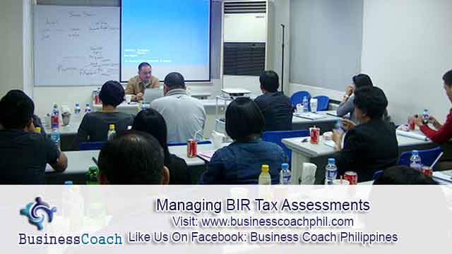 Managing BIR Tax Assessments (2)