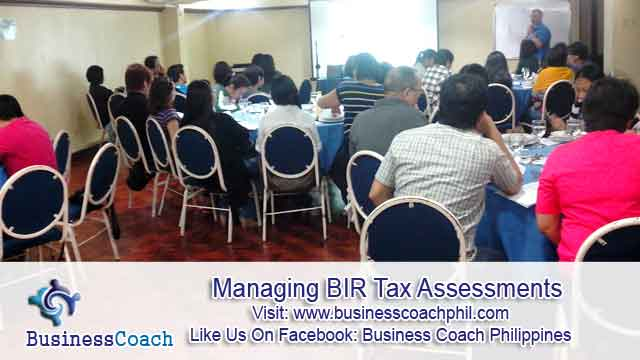Managing BIR Tax Assessments