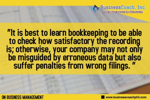 Knowledge On Bookkeeping And Accounting Is Essential