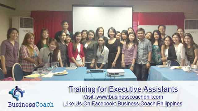 Training for Executive Assistants 2