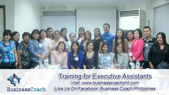 Training for Executive Assistants 3
