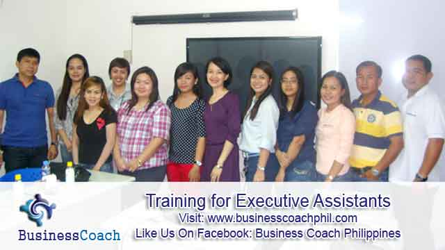 Training for Executive Assistants