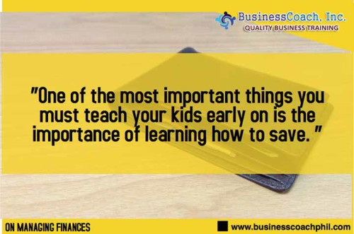 Teach Your Teenager How To Save