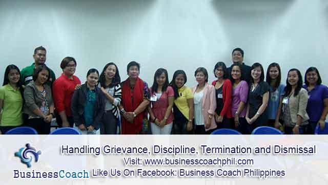 Handling Grievance, Discipline, Termination and Dismissal