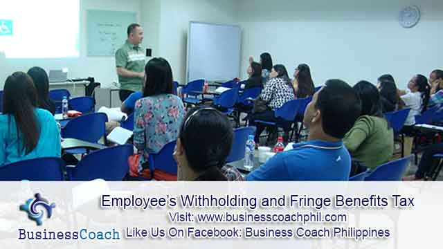 Employee's Withholding and Fringe Benefits Tax (1)
