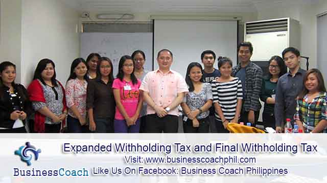 Expanded Withholding Tax and Final Withholding Tax (2)