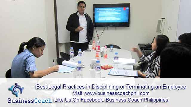 Best Legal Practices in Disciplining or Terminating an Employee (1)