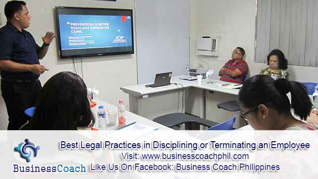 Best Legal Practices in Disciplining or Terminating an Employee (2)