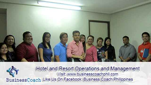 Hotel and Resort Operations and Management (3)