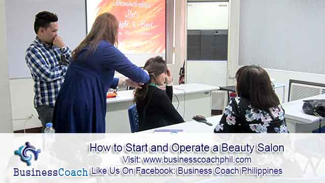 how to start a salon business plan