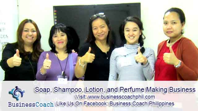 Soap, Shampoo, Lotion, and Perfume Making Business (2)